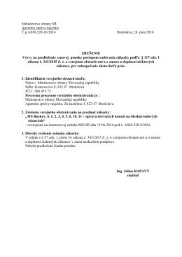 Agentúra správy majetku - Ministerstvo obrany SR