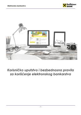 Korisničko uputstvo i bezbednosna pravila za korišćenje