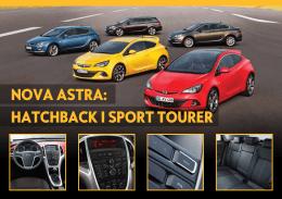 Nova Opel Astra MCE