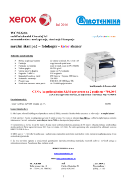 WC-5022 - Birotehnika