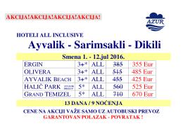 Ayvalik - Sarimsakli