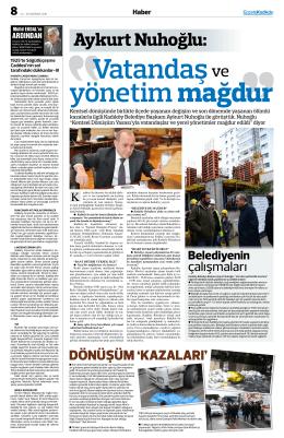 Aykurt Nuhoğlu - gazete kadıköy