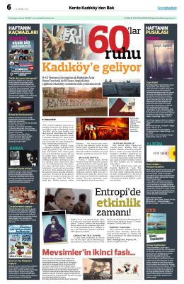 etkinlik - gazete kadıköy