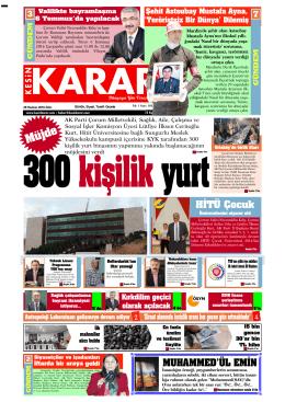 28 haziran 2016_Kesin Karar Gazetesi