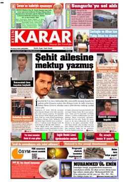 29 haziran 2016_Kesin Karar Gazetesi