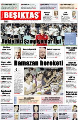 Gazete Oku - Gazete Beşiktaş