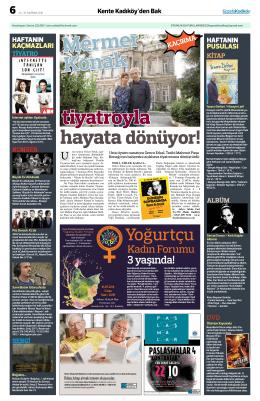 Yoğurtçu - gazete kadıköy