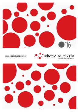 2016 / 1 - Kiraz Plastik
