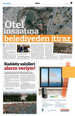 alarm veriyor! - gazete kadıköy