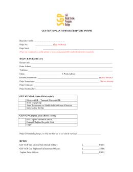 gef sgp toplantı projesi başvuru formu
