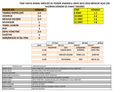 dersin adı dönemi sınıf dönemi taşıma modelleri 5-6 9.sınıf 1