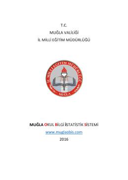 T.C. OKUL B S www.muglaobis.com 2016