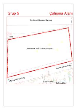 Grup 5 Çalışma Alanı - Hacettepe Üniversitesi Geomatik