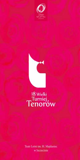 18. Wielki Turniej Tenorów 2016 r.
