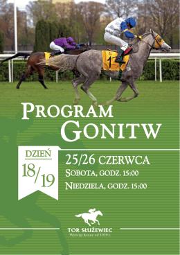 Program Gonitw na 25-26.06
