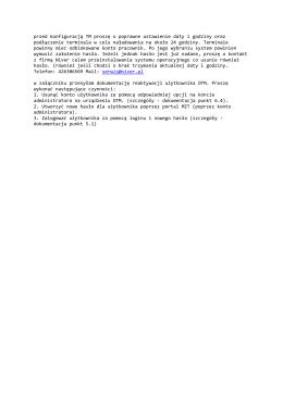 pobierz plik: Dokumentacja reaktywacji użytkownika OTM