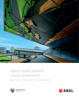 Sektor nowoczesnych usług biznesowych w Aglomeracji Katowickiej