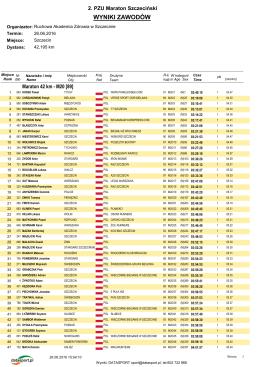 kategorie - Data Sport
