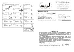 Anhängekupplung Katalog nr B04A = D [kN] PPUH