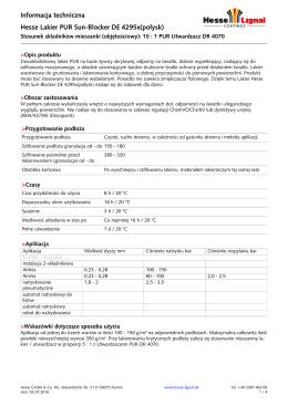 Hesse Lignal Datasheet