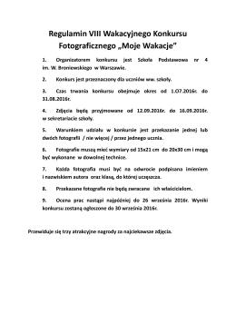 tutaj - Szkoła Podstawowa Nr 4 w Warszawie