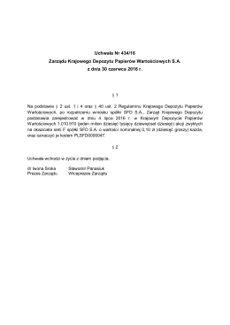 Uchwała Nr 0434-2016