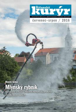 Mlýnský rybník - Mediální a komunikační servis Říčany, ops