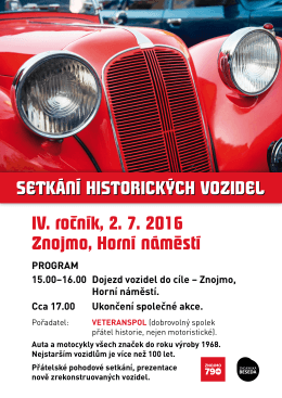 Plakát - Znojmo