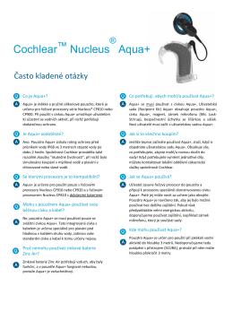 Cochlear Nucleus Aqua+