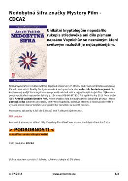 PDF podoba - Mystery Film brand