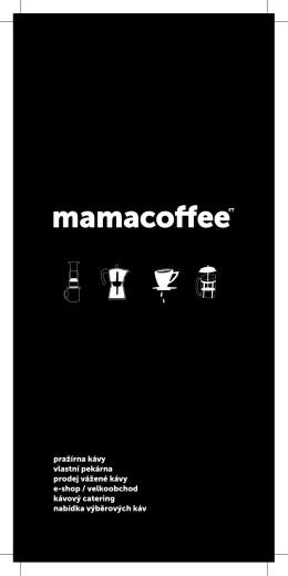 pražírna kávy vlastní pekárna prodej vážené kávy e