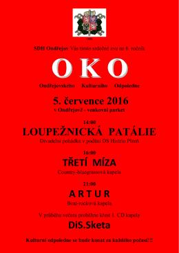 5. července 2016 LOUPEŽNICKÁ PATÁLIE - OSH Plzeň