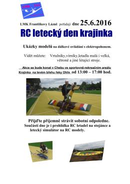 RC letecký den krajinka - LMK