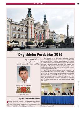 Dny chleba Pardubice 2016