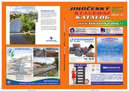 prolistujte si nový stavební katalog 2016-17 on