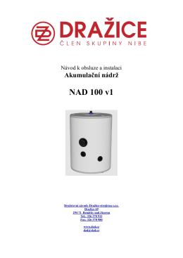 Návod k obsluze a instalaci NAD 100 v1