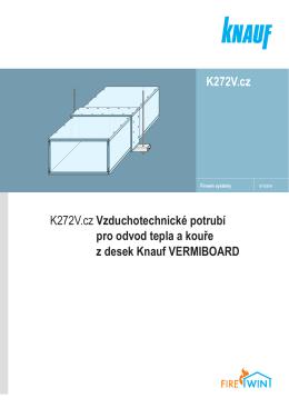 K272V.cz Vzduchotechnické potrubí pro odvod tepla a kouře
