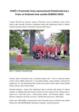 DOBRÁCI ROKU_finálová část soutěže