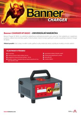 Složka Charger HF Basic CZ