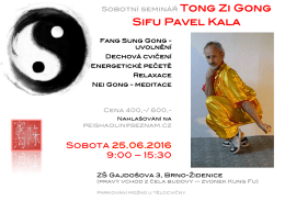 Seminář Tong Zi Gong