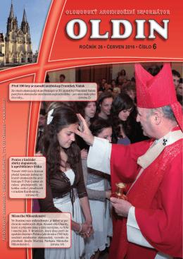 olomoucký arcidiecézní informátor ročník 26 • červen 2016 • číslo 6