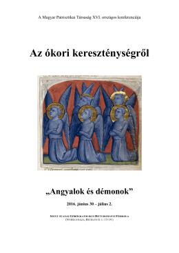 """Az ókori kereszténységről """"Angyalok és démonok"""""""