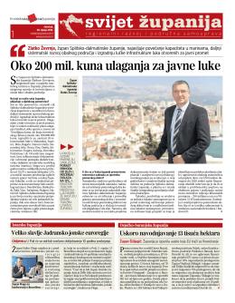 Newsletter Hrvatske zajednice županija