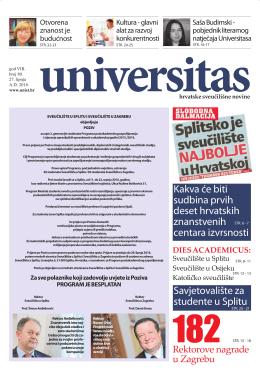 Universitas - br. 80 - Sveučilište u Splitu