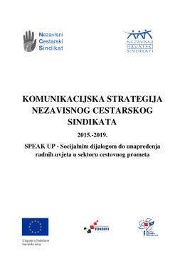 komunikacijska strategija nezavisnog cestarskog sindikata