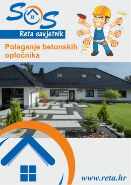 1.SOS Reta savjetnik-Polaganje opločnika