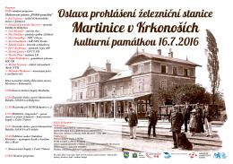 Martinice železnice plakáty A... - K