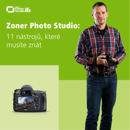 Zoner Photo Studio: