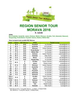 zde - Region Senior Tour Morava