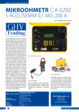 C.A 6292 - GHV Trading